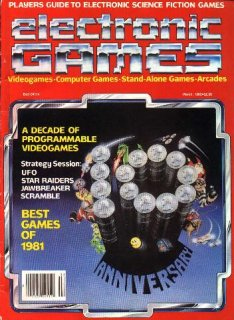 Classic Videogame Magazines Listings